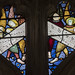 Warwick St Mary's church, Beauchamp chapel window detail