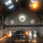 View from inside The Bistrot Pierre  in Preston