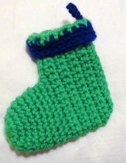 Mini Cuffed Christmas Stocking