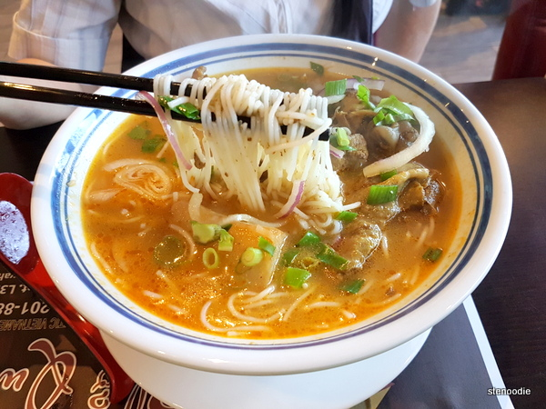 Curry Chicken Vermicelli Soup