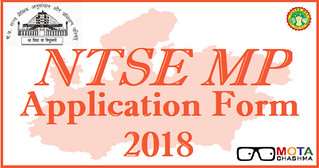 NTSE MP Application form