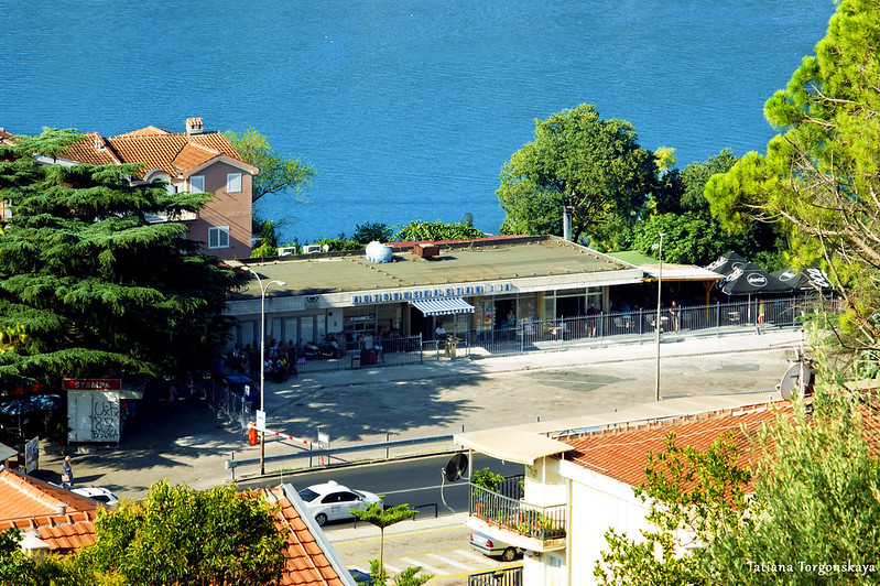 Вид на автобусную станцию Херцег Нови