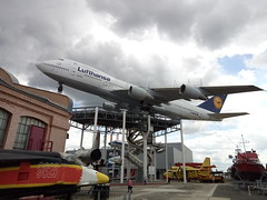 Lufthansa Boeing 747 in the Museum