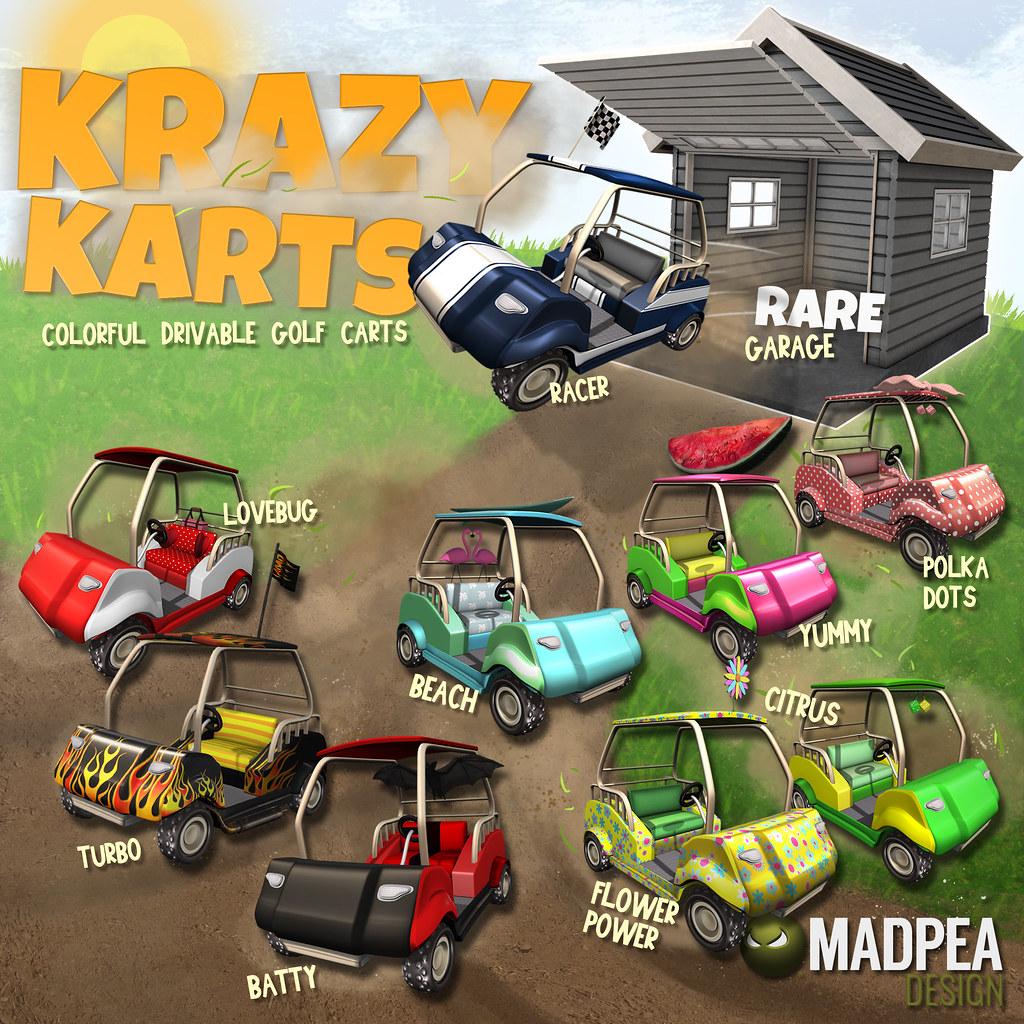 Krazy Karts at Gacha Garden - August 2018 - TeleportHub.com Live!