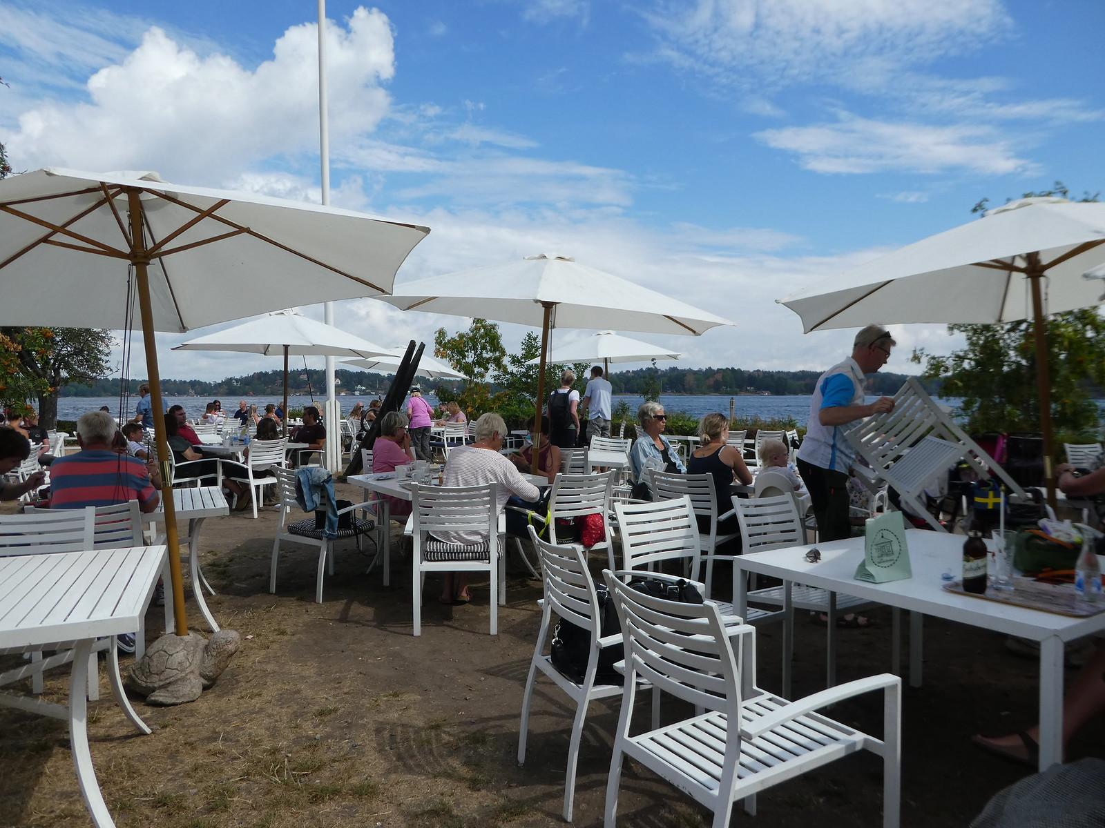 Hembygdsgårds cafe, Vaxholm Island, Stockholm