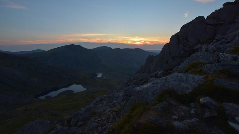 Tryfan Snowdonia Wales