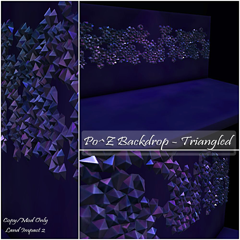 Po^Z Backdrop – Triangled