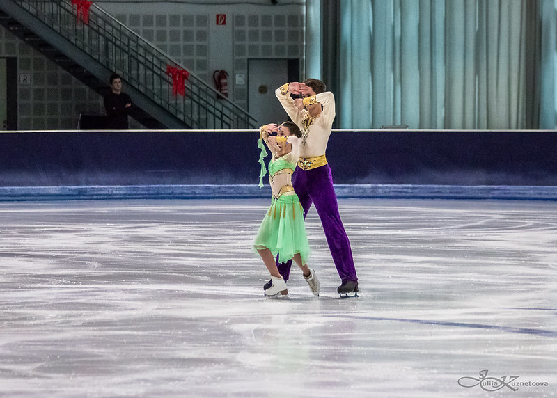 Vasilisa GRIGOREVA / Lev SERGEEV RUS Advanced Novice Free Dance