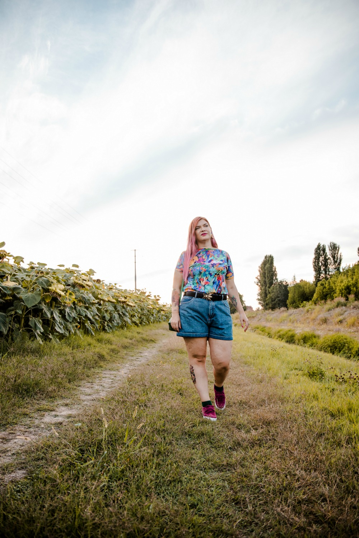 Outfit plus size, shorts e tshirt handmade la nana sartori (7)