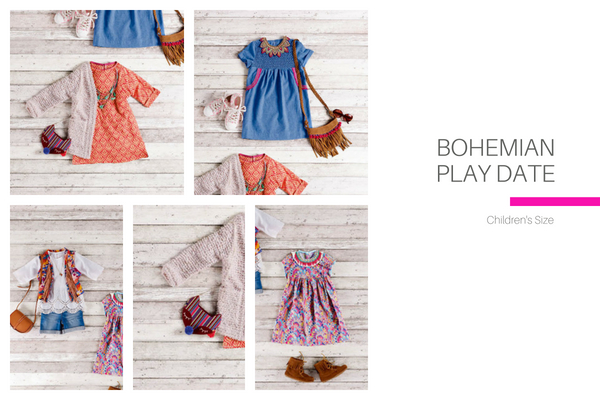 Bohemian Playdate Childrens Collection