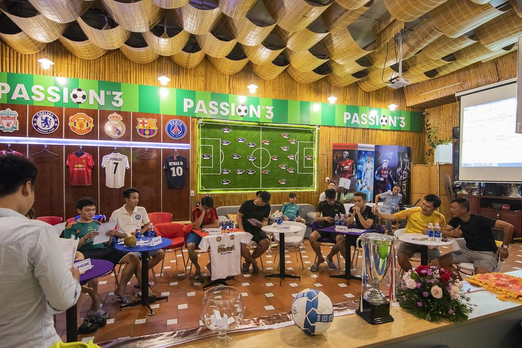 Giải bóng đá mini cúp Passion 3 lần đầu tiên tổ chức tại Vũng Tàu