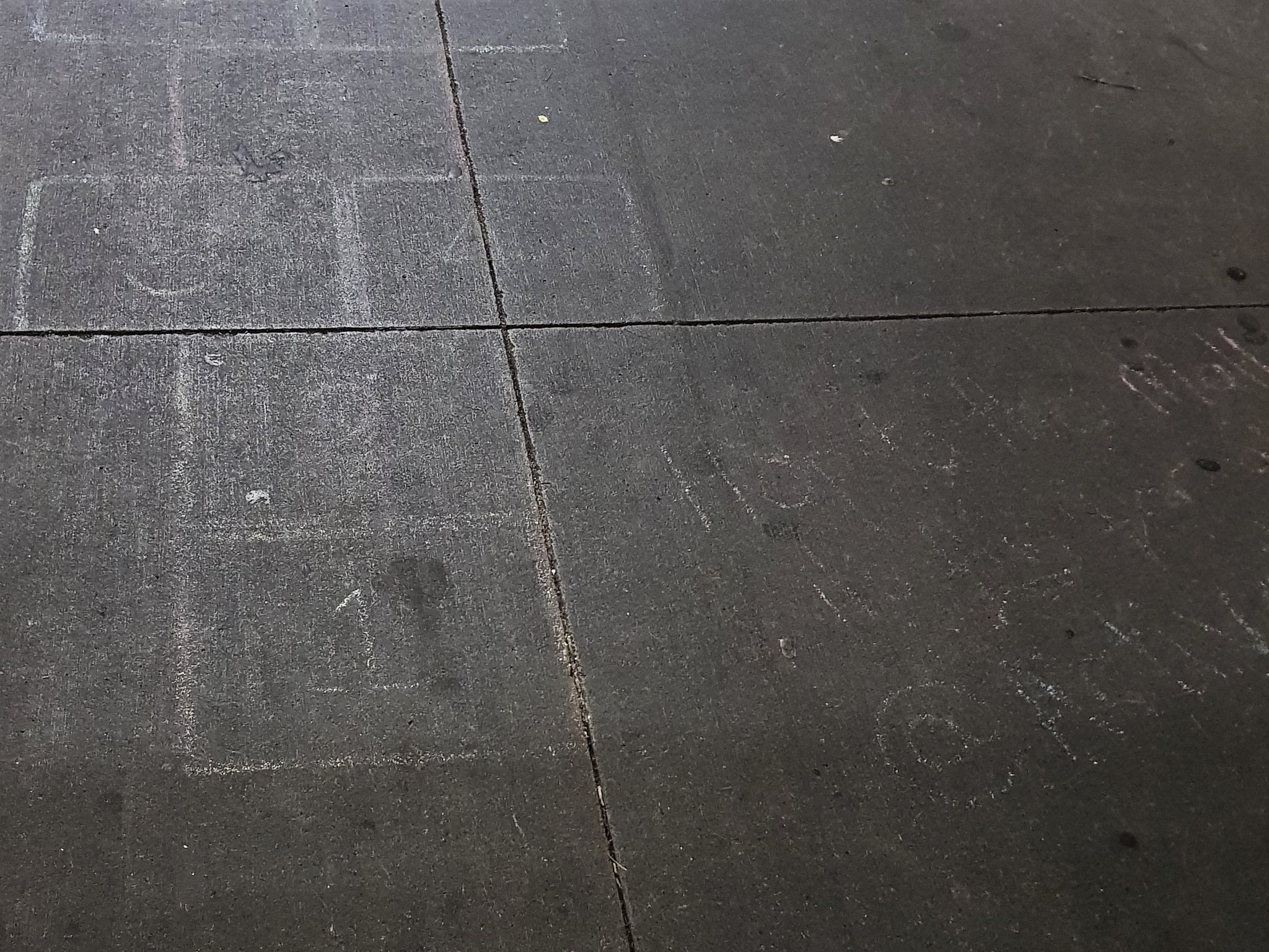 20180731_093235 Cryptic messages on slate grey
