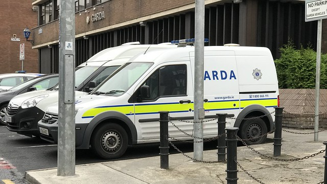 Irish Police Car - An Garda Síochána - Ford Transit Connect -  Henry Street, Limerick