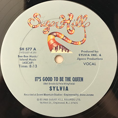 SYLVIA:IT'S GOOD TO BE THE QUEEN(LABEL SIDE-A)