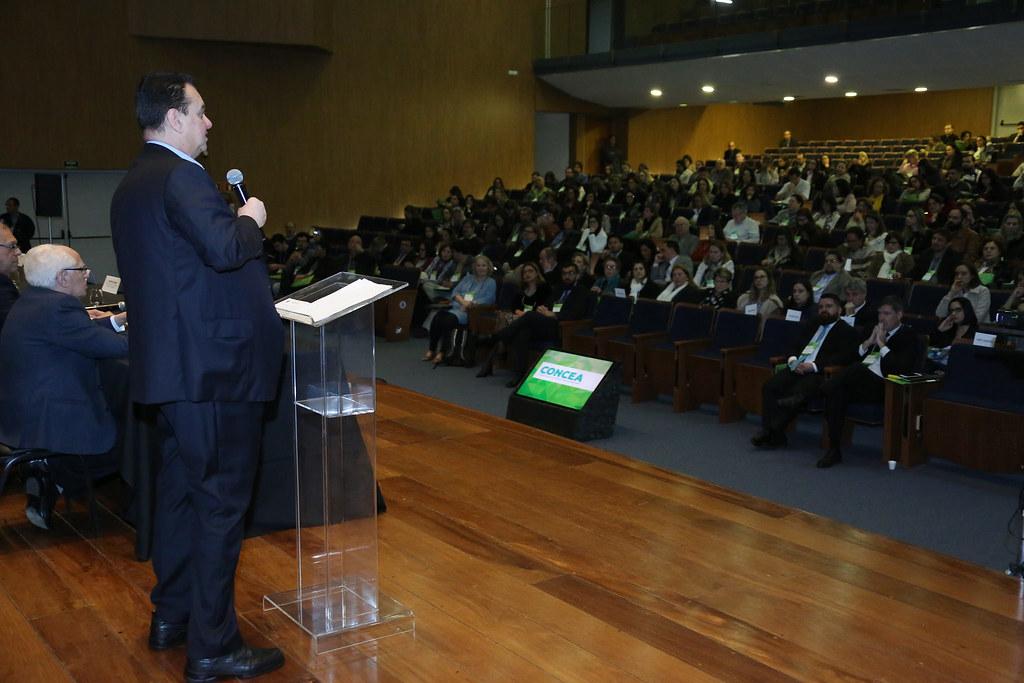 Ministro Gilberto Kassab participa do III Simpósio CONCEA 2018 - 10 anos da Lei Arouca. 13/08/2018. São Paulo-SP. Foto: Bruno Peres/MCTIC.