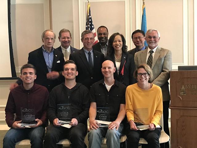 Delaware Gov. John Carney and U.S. Sen. Tom Carper Recognize Annual U.S. Cyber Challenge Winners at WilmU-Dover