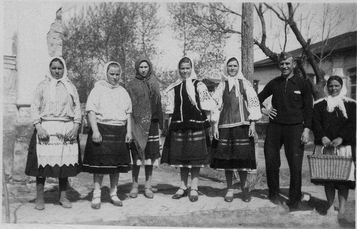 1942. Жизнь под немцем. Козелец, Черниговской области  (2)
