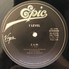I LEVEL:GIVE ME(LABEL SIDE-B)