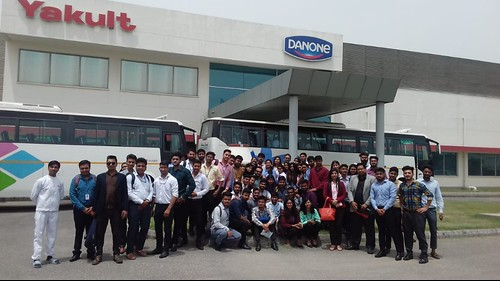 ABS PGDM 1st Semester Industrial Visit to Yakult & Danone Pvt Ltd