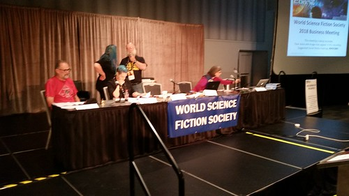 Worldcon 76 WSFS Head Table