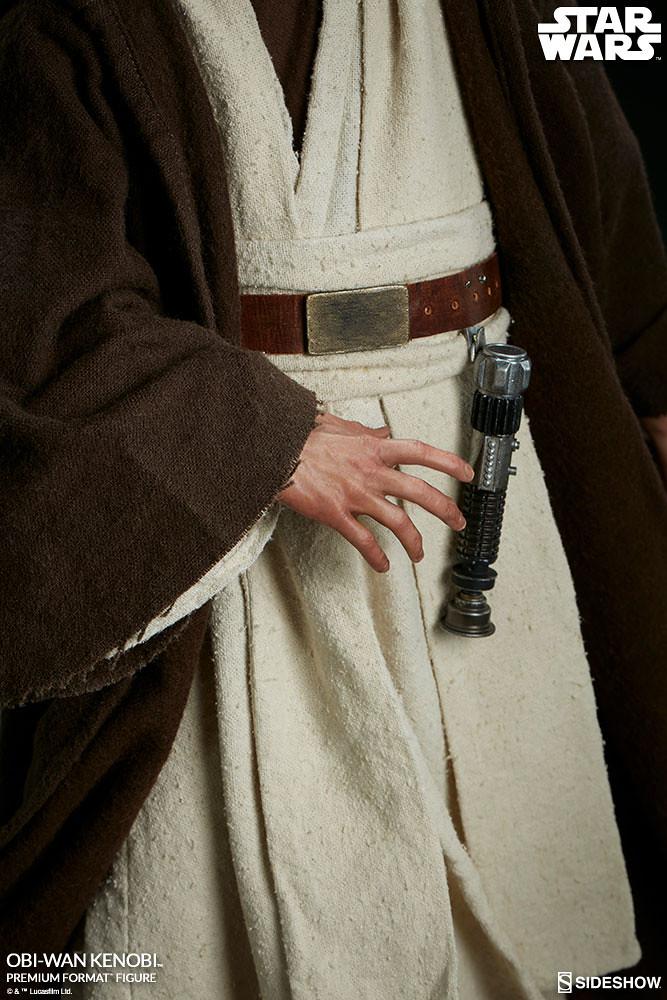 Sideshow Collectibles Premium Format Figure 系列《星際大戰四部曲:曙光乍現》歐比王·肯諾比 Obi-Wan Kenobi 1/4 比例全身雕像作品