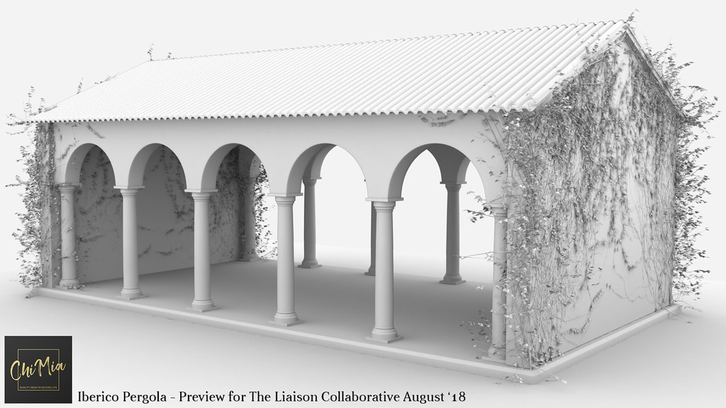 ChiMia – Iberico Pergola WIP – The Liaison Collaborative August '18