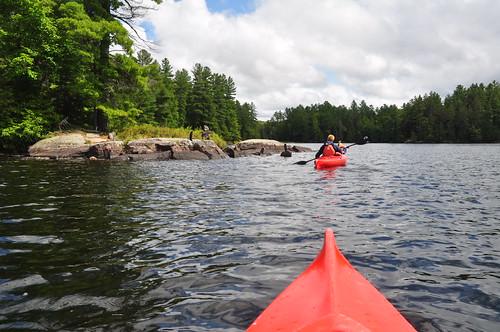 Silent Lake kayak