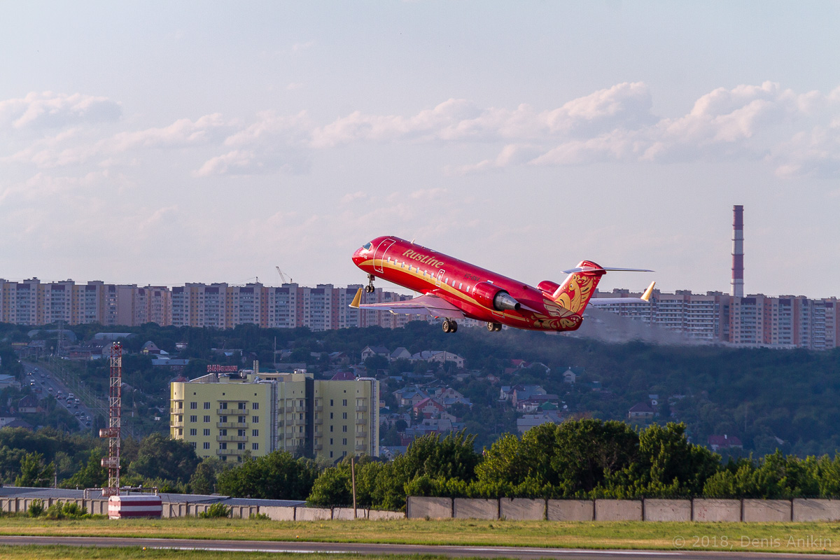 Rusline CRJ-100 VQ-BNA фото 8
