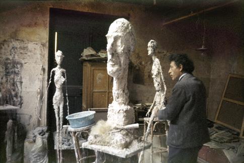Atelier de Giacometti by Ernst Scheidegger Uti 485