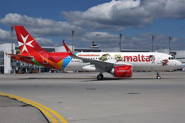 9H-NEO A20N Air Malta MUC 20180622