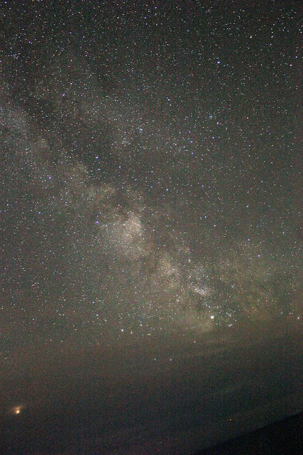 The core of the Milky Way and Mars