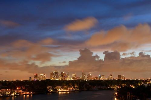 fortlauderdale florida fortlauderdaleflorida skyline fortlauderdaleskyline aerialview djiphantomdrone