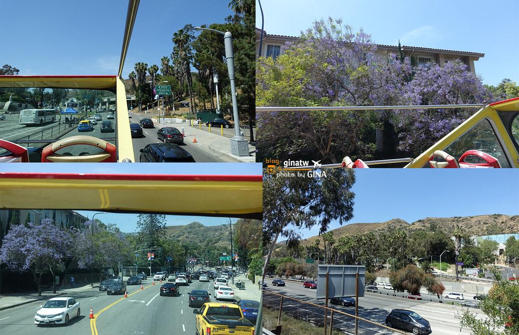 美國自助/自駕》LA洛杉磯景點 好萊塢星光大道(Hollywood Walk of Fame) + 洛杉磯&好萊塢觀光雙層巴士介紹 @Gina Lin