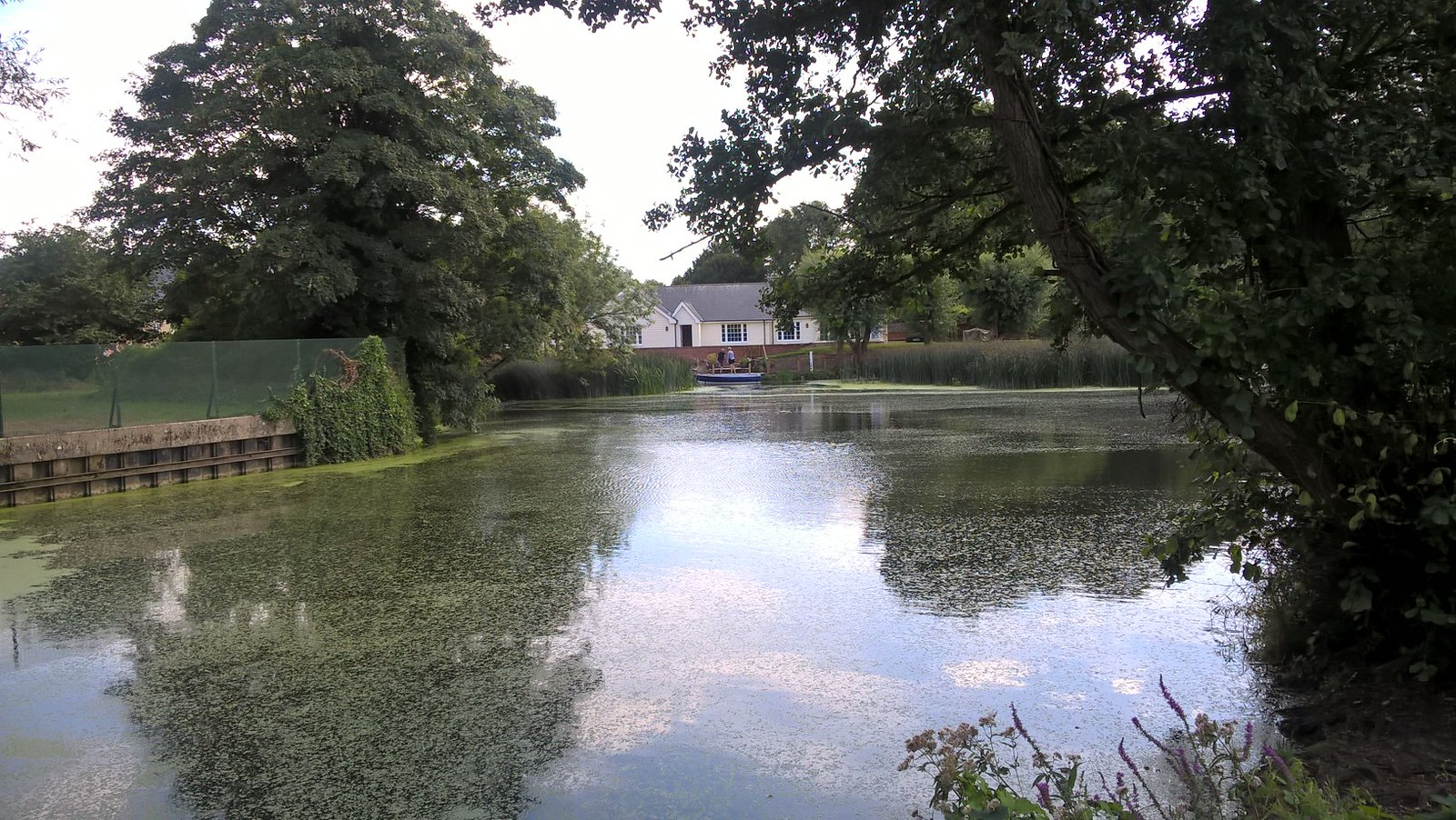 Near Dedham Lock in Constable Country