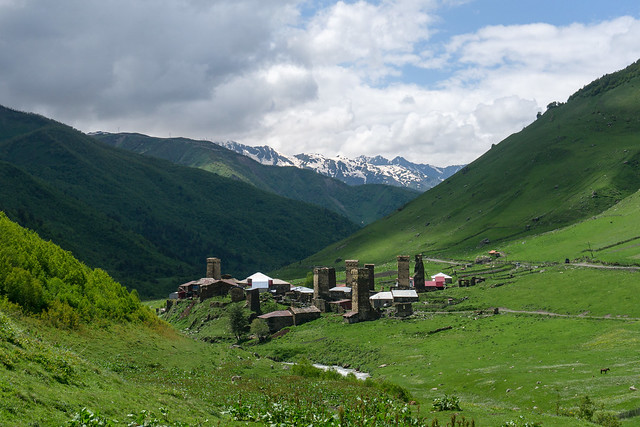 Village Murkmeli, Ushguli Community, Georgia