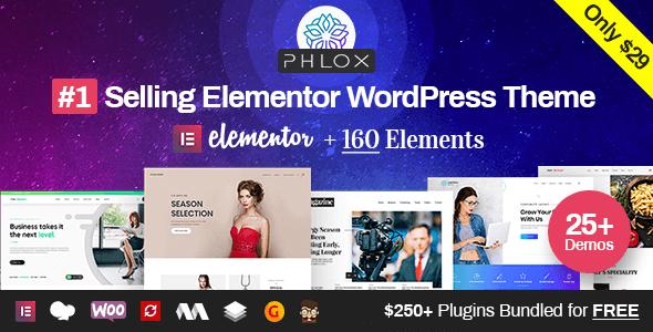 Phlox Pro v5.0.16 – Elementor MultiPurpose WordPress Theme