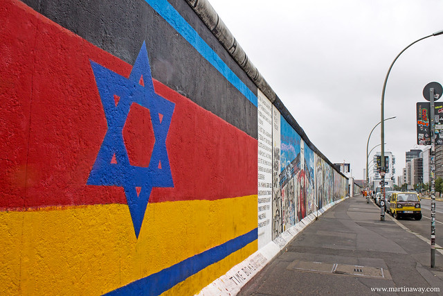 East Side Gallery, Muro di Berlino