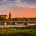 Sunset over Malbork