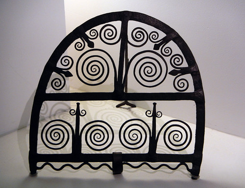 Wrought Iron Fireguard at the National Museum of Decorative Arts in Dublin Ireland