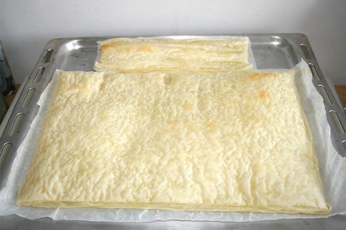 05 - Blätterteig vorbacken Pre-bake puff pastry