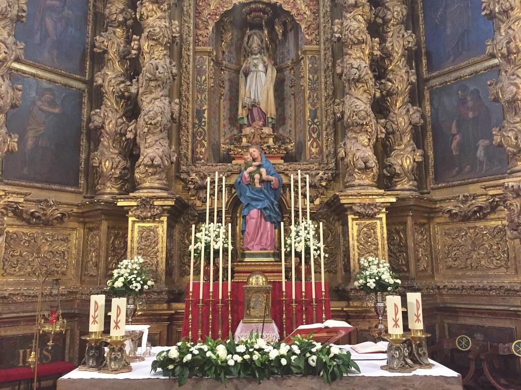 Virgen salud Celadas 60 - Altar Triduo