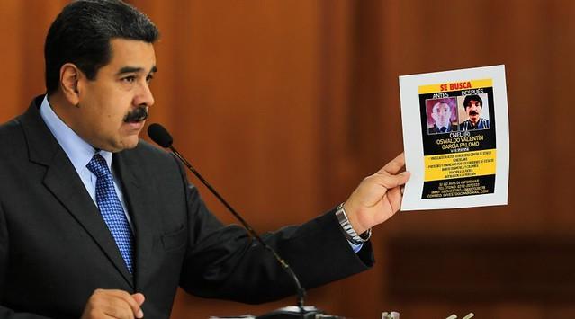 Oposição radicada nos EUA e Colômbia é apontada como autora de atentado contra Maduro
