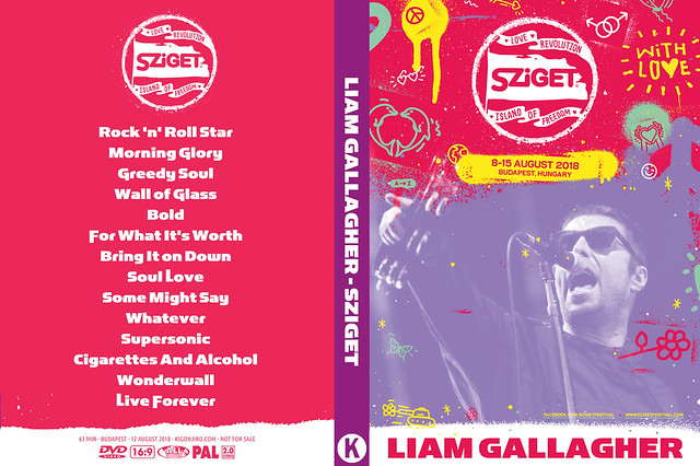 Liam Gallagher - Sziget 2018