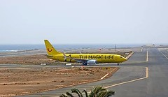 TUIfly Boeing 737-800 D-ATUG Magic Life hotels special livery Lanzarot