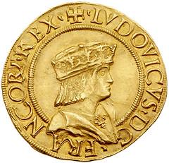 Louis XII obverse