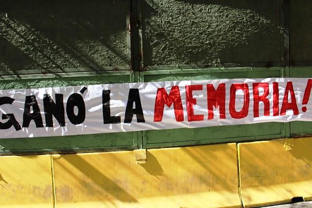 ANEF y sus afiliadas ANFUDIBAM y ANFUCULTURA protestan a favor de los Derechos Humanos (13-08-2018)