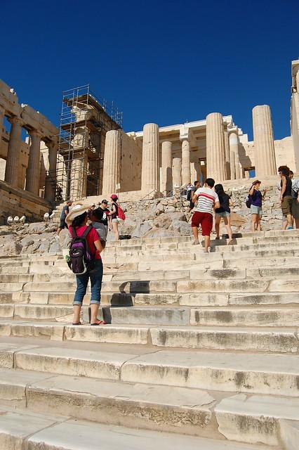 Staircase to the Acropolis