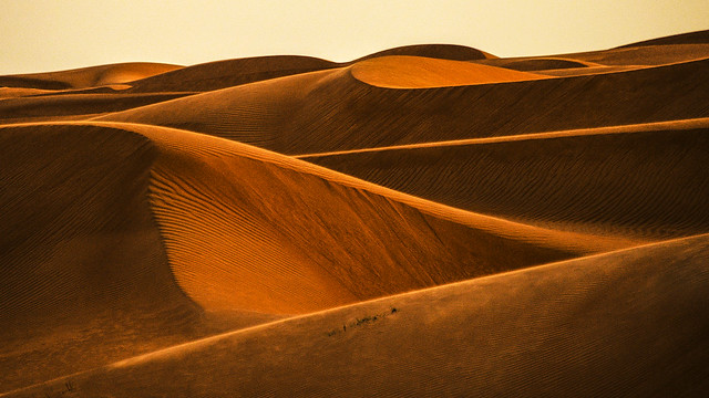 The red dunes of Oman
