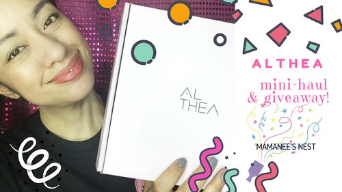 althea mini-haul & giveaway!