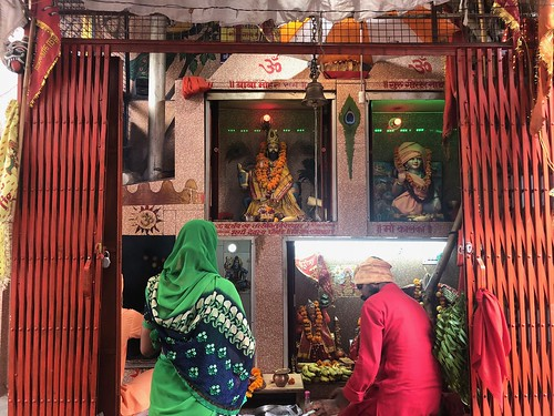 City Life - Moorti Devi's Prayers, Bhimgarh Kheri, Gurgaon